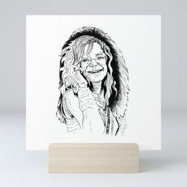 Little Girl Janis Mini Art Print