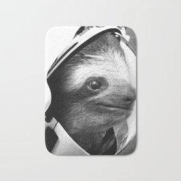 Astronaut Sloth Bath Mat