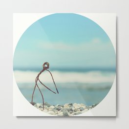 Outing On The Beach Metal Print