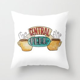 Central Perk from Friends TV Show Throw Pillow