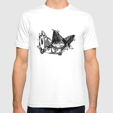 Avant que je m'ennuie - Emilie Record Mens Fitted Tee White MEDIUM
