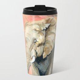 Mom and Baby Elephant Travel Mug
