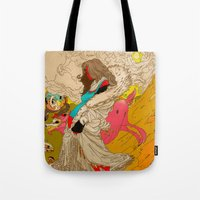 mother Tote Bags featuring MOTHER by kasi minami