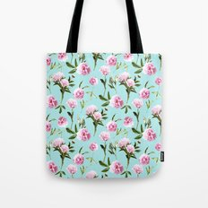 Peonies In Her Dreams Tote Bag
