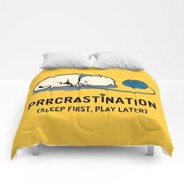 Prrcrastination Comforters