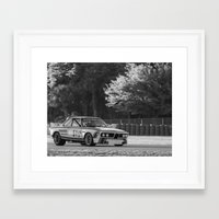 bmw Framed Art Prints featuring BMW by Trackography