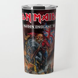 iron maiden england 1988 Travel Mug