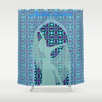 arabic Shower Curtains featuring arabic dancer by Ricardo Jeronimo