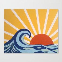 Let Your Sun Shine Canvas Print
