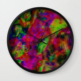 Brain Fog Wall Clock