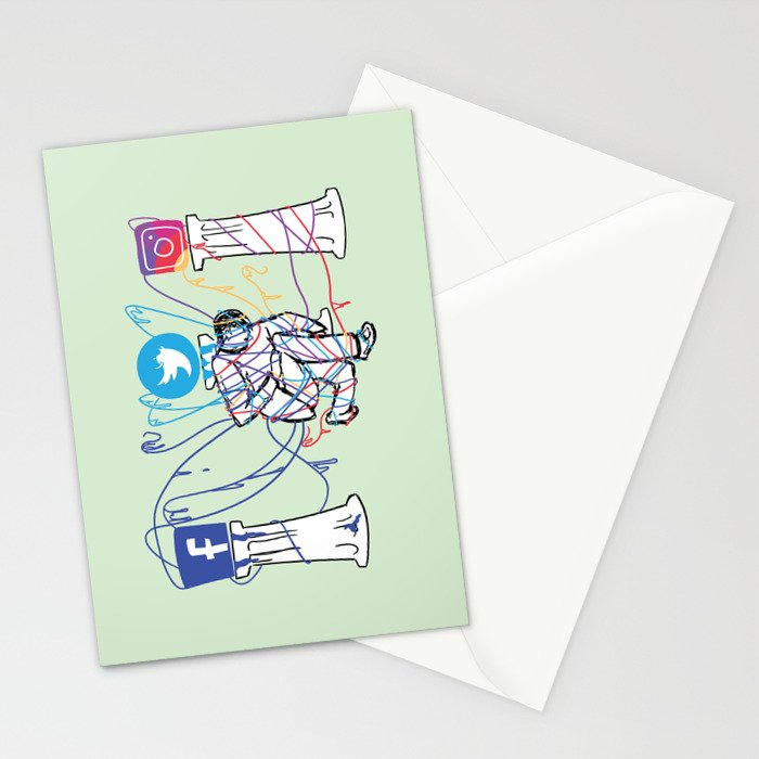 Idle Idols Stationery Cards
