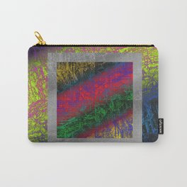 Psychedelic Petrified Wood Carry-All Pouch