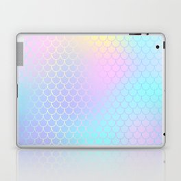 Rainbow Mermaid Abstraction Laptop & iPad Skin