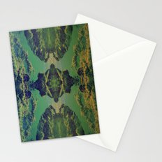 mirro red. Stationery Cards