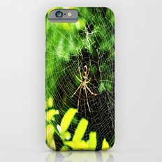 Webs Of Green Slim Case iPhone 6s