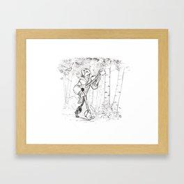 Troubachouette Framed Art Print