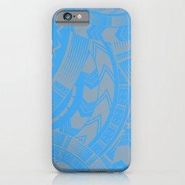 UrbanNesian Brown Tatau Design iPhone Case
