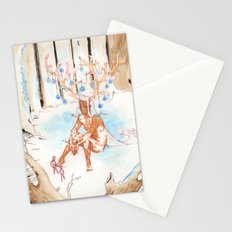 On the Nature of Spirits: Fauna Stationery Cards