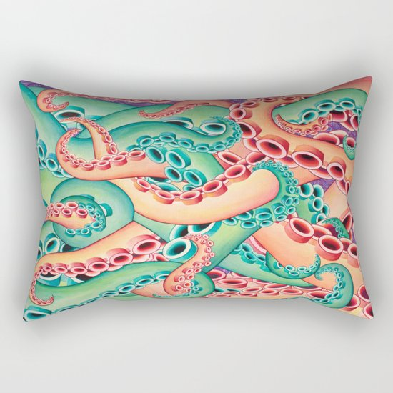 Tentaculon 10 Rectangular Pillow