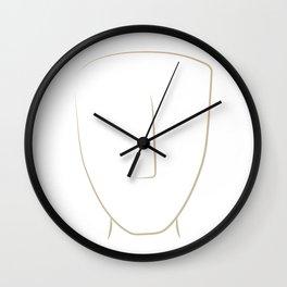 cycladic #3 Wall Clock