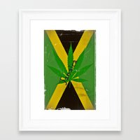 jamaica Framed Art Prints featuring Jamaica by Shalisa Photography