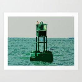 Buoy 21 Art Print