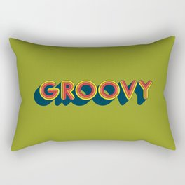 Groovy Rectangular Pillow