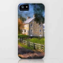 If These Walls Could Talk iPhone Case