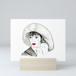 Liza as Sally Mini Art Print