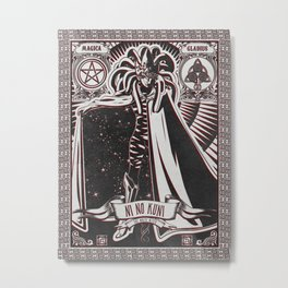 Ni No Kuni. The White Witch. Metal Print