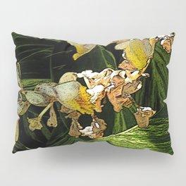 Tropical cascade of white flowers Pillow Sham