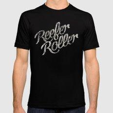 Reefer Roller MEDIUM Mens Fitted Tee Black