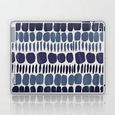 Painted Stones-Indigo Laptop & iPad Skin