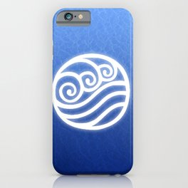 Avatar Water Bending Element Symbol iPhone Case