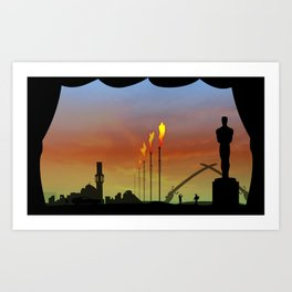 And the Oscar goes to: Weapons of mass destruction Art Print