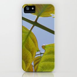 Spring Leaves iPhone Case