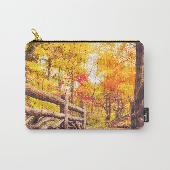 New York City Autumn in Central Park Carry-All Pouch