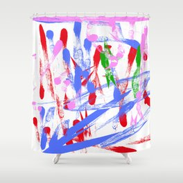 MYRTLE'S COLORS Shower Curtain