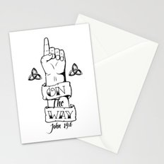 One/On The Way Stationery Cards