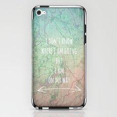 I'm On My Way iPhone & iPod Skin