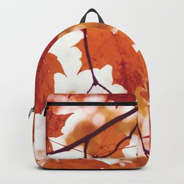 Fluttering from the Autumn tree Backpack