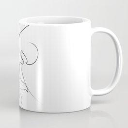 Tender Kiss ( on white ) Coffee Mug