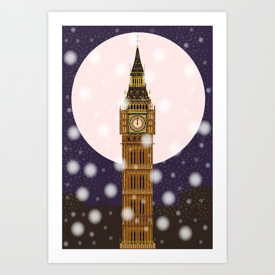 London Christmas Eve by homestead