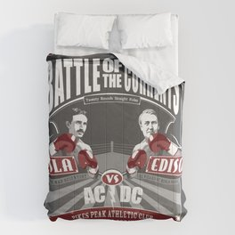 Battle of the Currents Comforters