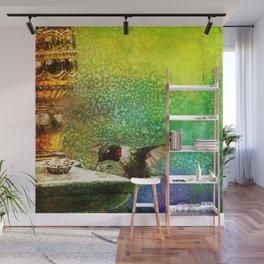 Jewel Hummingbird ~ Ginkelmier Inspired Wall Mural