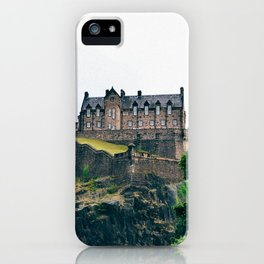 Edinburgh Castle View iPhone Case