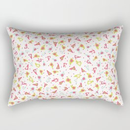 Abstract Triangle Shapes Rectangular Pillow