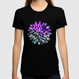 Purple Agate Crystal T-shirt