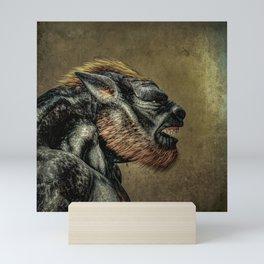 Portrait of a Werewolf Mini Art Print