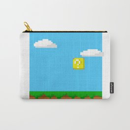 8bit Super Mario game Carry-All Pouch